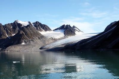 Glacier, Magdalenefjord, Svalbard. Nb Lack of Drift Ice by David Lomax