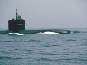 Nuclear Submarine, United States Navy by David Lomax