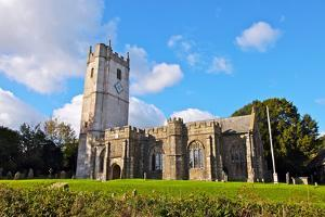 St. Winifred's Church Dating from the 15th Century by David Lomax