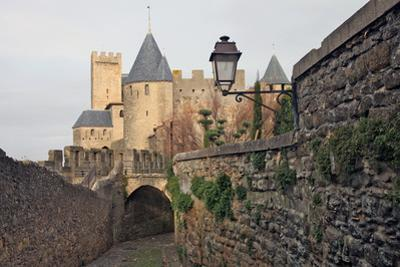 The Ancient Fortified City of Carcassone by David Lomax