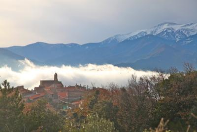 View of Morning Mist and Arboussols by David Lomax