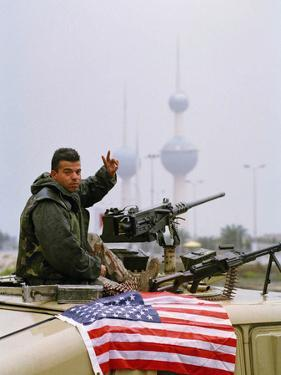 1991 Gulf War Kuwait Liberation by David Longstreath