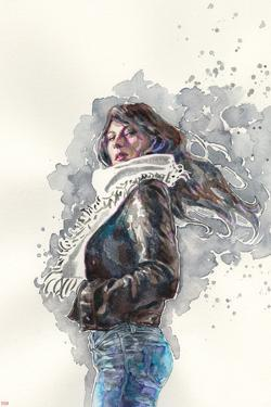 Jessica Jones #1 Cover Art Featuring Jessica Jones by David Mack