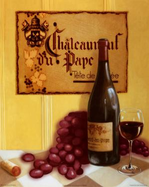Chaleanuef Du Pape by David Marrocco
