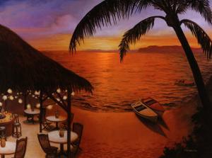 Tahitian Sunset by David Marrocco