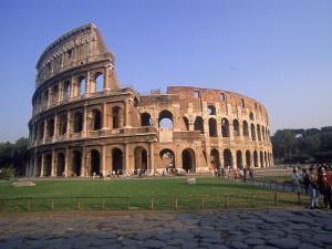 The Colosseum, Rome, Italy by David Marshall