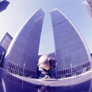 World Trade Center, Wide Angle by David Marshall