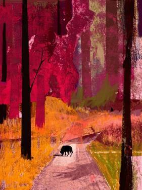 Black Dog, 2013 by David McConochie