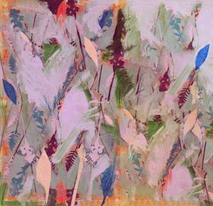 Botanical Collage # 1, 2017 by David McConochie