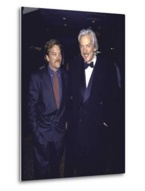 Actor Kiefer Sutherland and Father, Actor Donald Sutherland by David Mcgough