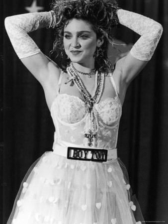 Madonna at 1st Annual MTV Video Music Awards, at Tavern on the Green by David Mcgough