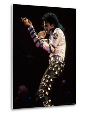 Singer Michael Jackson Performing by David Mcgough