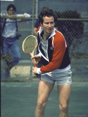 Tennis Pro John McEnroe by David Mcgough