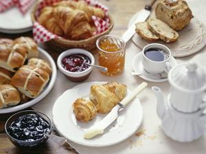 Continental Breakfast by David Munns
