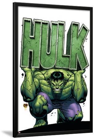 Marvel Adventures Hulk No.4 Cover: Hulk