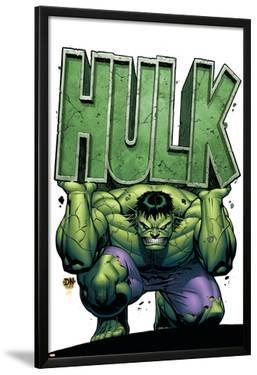 Marvel Adventures Hulk No.4 Cover: Hulk by David Nakayama