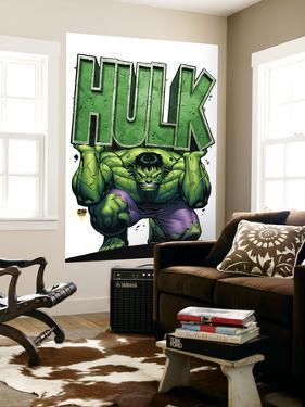 Marvel Adventures Hulk No.4 Cover: Hulk by David Nakayama
