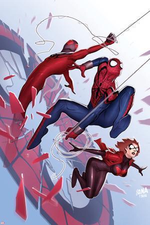 Scarlet Spiders No. 1 Cover, Featuring: Scarlet Spider, Black Widow, Spider-Man