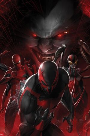 Spider-Man 2099 No. 6 Cover, Featuring: Spider-Man 2099, Lady Spider, Spider-Man