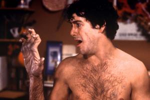 David Naughton dans Le Loup Garou by Londres (An american werewolf in London) by JohnLandis, 1981 (