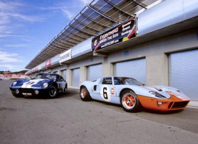 Shelby Daytona Coupe  Ford Gt  By David Newhardt