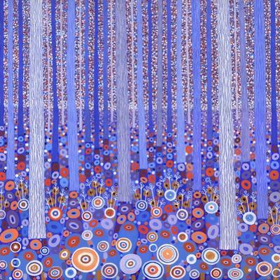 Blue Orange Forest, 2015 by David Newton
