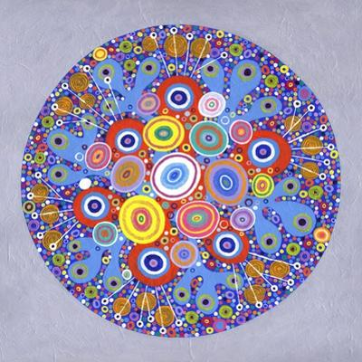 Mandala 1, 2016 by David Newton