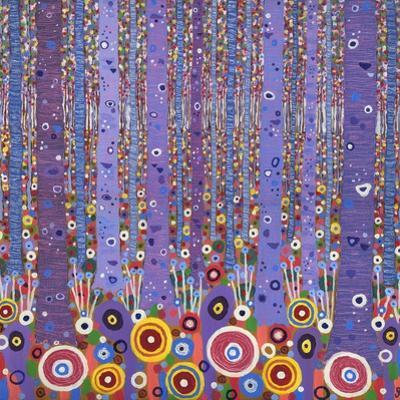 Purple Forest 1, 2012 by David Newton