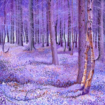 Purple Forest 2, 2012 by David Newton