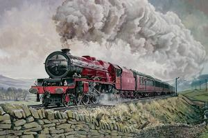 The Princess Elizabeth Storms North in All Weathers by David Nolan