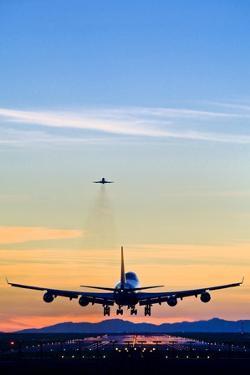 Aeroplane Landing, Canada by David Nunuk