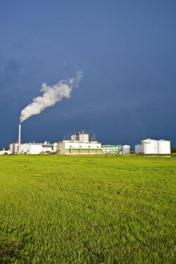 Corn Ethanol Processing Plant by David Nunuk