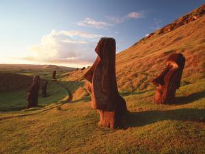 Easter Island Statues by David Nunuk
