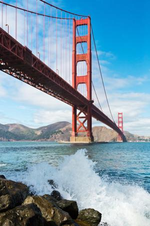 Golden Gate Bridge by David Papazian