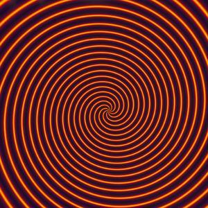 Abstract Computer Artwork of a Spiral by David Parker