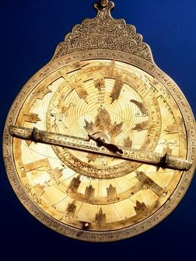 Brass Astrolabe From the Middle Ages by David Parker
