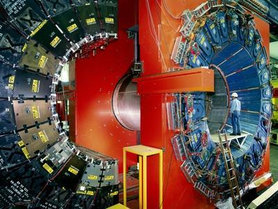 CDF Particle Detector, Fermilab