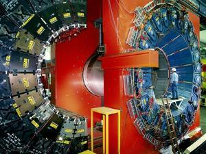 CDF Particle Detector, Fermilab by David Parker