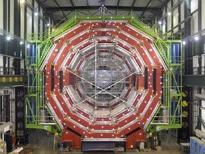 CMS Detector, CERN by David Parker