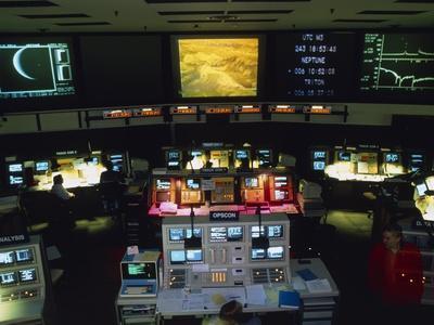 Mission Control At JPL, Pasadena, California