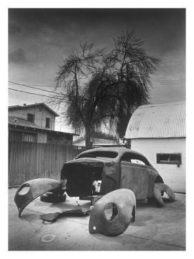 1939 Mercury Street Rod Bones by David Perry
