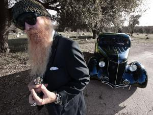 Billy F. Gibbons Hot Rod by David Perry
