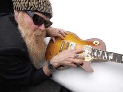 Billy F. Gibbons Les Paul by David Perry