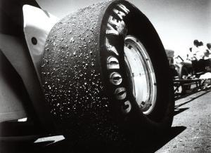 Goodyear Dragster Tire by David Perry