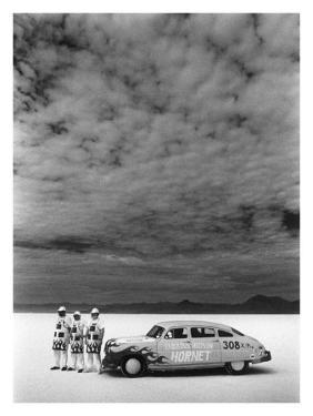 Hudson Hornet, Salt Flat Racer by David Perry