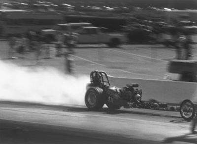 NHRA Top Fuel Rail Dragster by David Perry