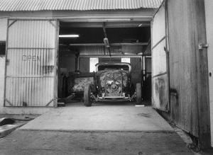 Rat Rod, Work Shop Garage by David Perry