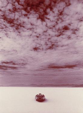 Salt Flat Land Speed Cloud by David Perry
