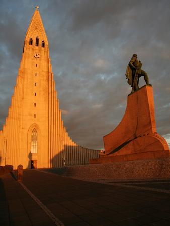 Cathedral in Reykjavik, Iceland, Polar Regions