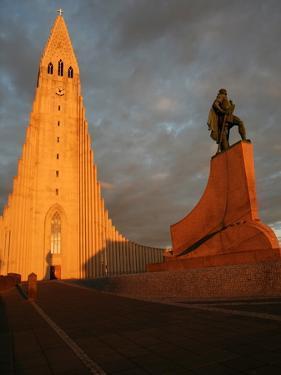 Cathedral in Reykjavik, Iceland, Polar Regions by David Pickford